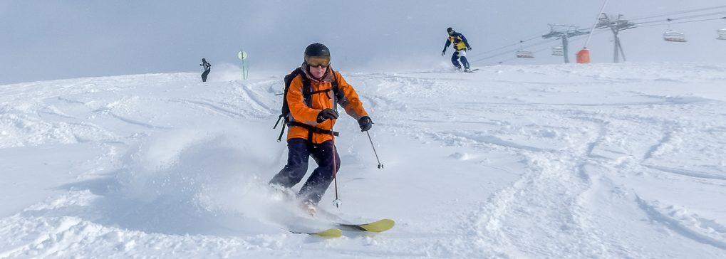 cheap ski holiday alpe d'huez powder