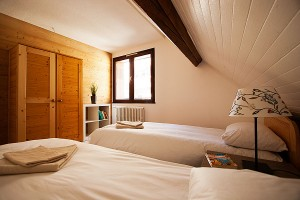 Chalet Holiday Bedroom