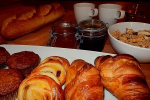 Chalet Holiday Breakfast